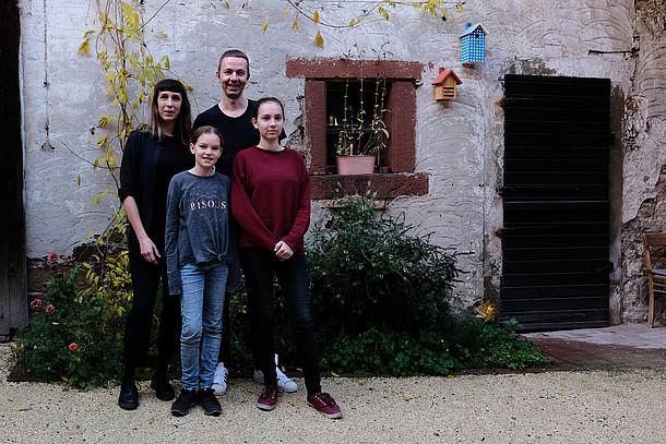 Dämmbotschafterin Kristina Butschbacher und Familie über das Leben im gedämmten Haus.