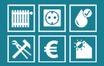 Beispielbild für die co2online-Ratgeberseiten: Symbole verschiedener Energiesparchecks